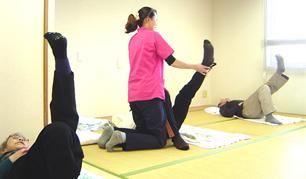 腰痛予防体操